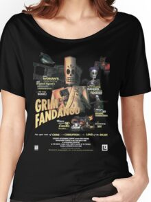 Grim Fandango Women's Relaxed Fit T-Shirt