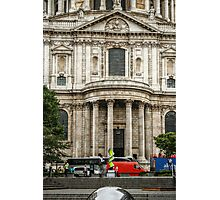 South Side Facade of Saint Paul's Cathedral Photographic Print