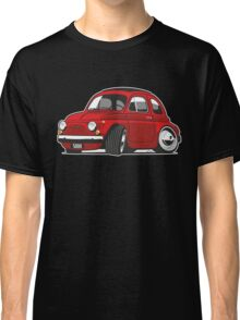 Fiat 500R caricature red Classic T-Shirt