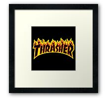 Flame Logo Framed Print