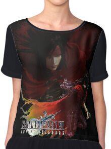 Vincent Valentine - Final Fantasy VII Advent Children Chiffon Top