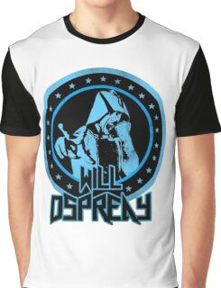 Will Osprey - Blue Graphic T-Shirt