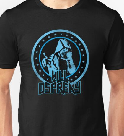 Will Osprey - Blue Unisex T-Shirt