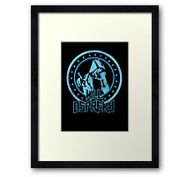 Will Osprey - Blue Framed Print
