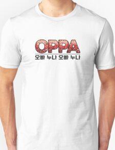 Oppa 오빠 Korean-Inspired Unisex T-Shirt