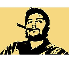 Vintage Man Smoking A Cigar Photographic Print