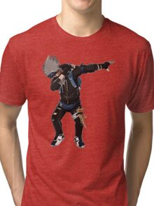 -DAB- Kakashi  Tri-blend T-Shirt