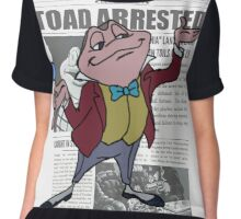 Toad Arrested Chiffon Top