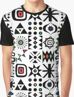 Flash Forward white Graphic T-Shirt