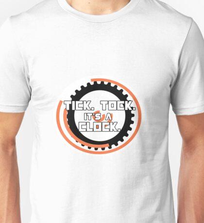 Catching Fire Hunger Games Clock Unisex T-Shirt