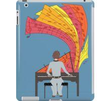 The joy of piano playing iPad Case/Skin
