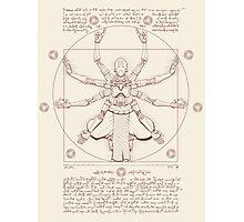 Vitruvian Omnic Photographic Print