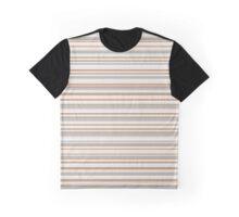 Golden tones horizontal linework Graphic T-Shirt