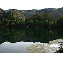 Morning Tranquility 1, Zaca Lake, CA 2014 Photographic Print