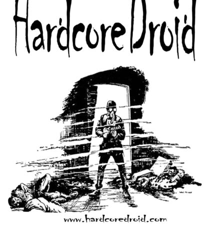 Hardcore Droid 1 Sticker