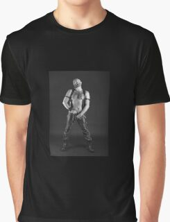 Troy- Unzipped & Ready  Graphic T-Shirt