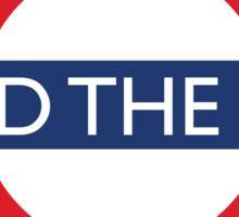 Mind The Gap - British - London Underground Design Sticker