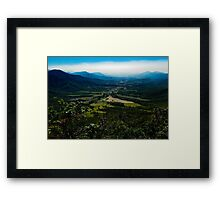 Pioneer Valley Framed Print