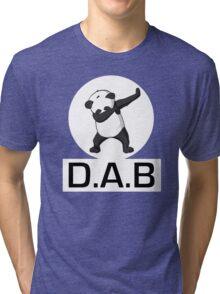 -DAB- Panda DAB Tri-blend T-Shirt