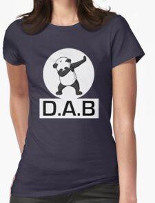-DAB- Panda DAB Womens Fitted T-Shirt