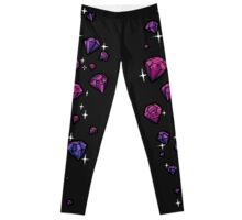 Purple Gems Leggings