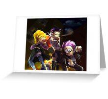 Delinquent Ichimatsu, Totoko, and Todomatsu Greeting Card