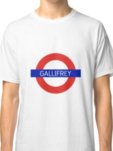 Gallifrey Station- Doctor Who Classic T-Shirt