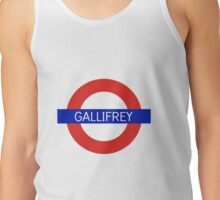Gallifrey Station- Doctor Who Tank Top