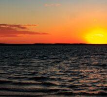 Hamilton Harbour Sunset, Dampier WA Australia Sticker