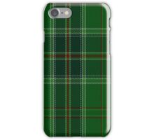 01542 All Ireland Green District Tartan  iPhone Case/Skin
