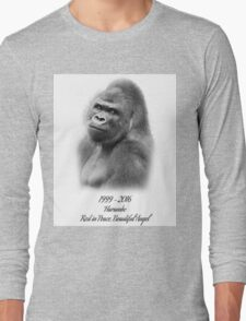 Rest in Peace, Harambe Long Sleeve T-Shirt