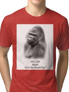Rest in Peace, Harambe Tri-blend T-Shirt