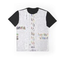 Mystic Suburb Comic Montage Graphic T-Shirt