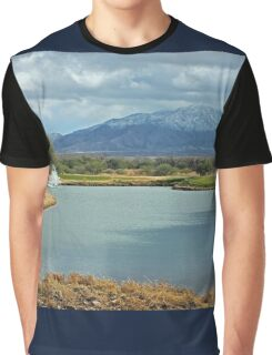Winter on the Desert Floor  Graphic T-Shirt
