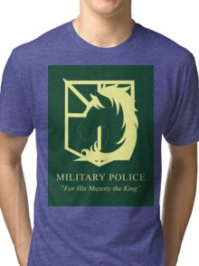 Attack on Titan Military Police Tri-blend T-Shirt