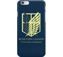 Attack on Titan Scouting Legion iPhone Case/Skin