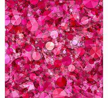 Razzle Dazzle Raspberry Abstract Photographic Print