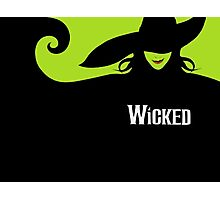 Wicked Cover With Elphaba (Wicked Merch) Photographic Print