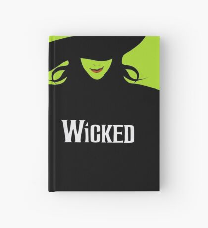 Wicked Cover With Elphaba (Wicked Merch) Hardcover Journal