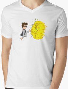 Pull My Finger Mens V-Neck T-Shirt