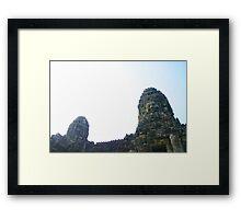 Khmer Captivation Framed Print
