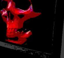 SKULLOVISION vaporgoth tee Sticker