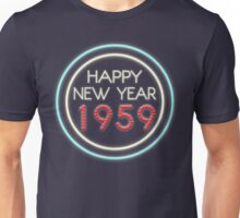 Happy New Year 1959 Unisex T-Shirt