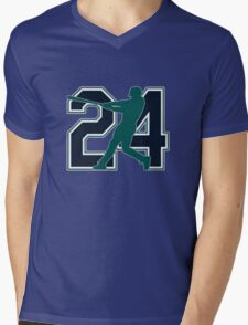 24 - Junior (original) Mens V-Neck T-Shirt