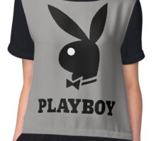 playboy logo Chiffon Top