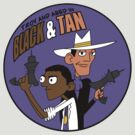 Troy and Abed in Black and Tan by chancel
