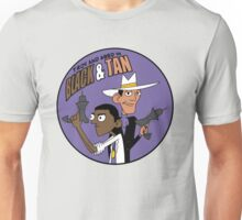 Troy and Abed in Black and Tan Unisex T-Shirt