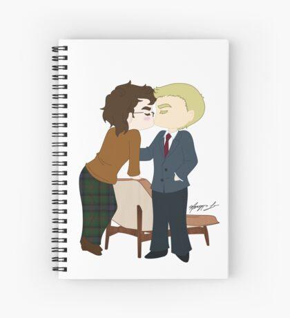 00Q Kiss Spiral Notebook