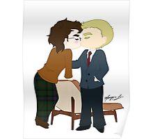 00Q Kiss Poster