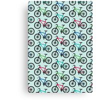 mountain bike multi   Canvas Print